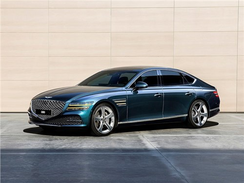 Новость про Hyundai Genesis G80 - Genesis G80 (2021)