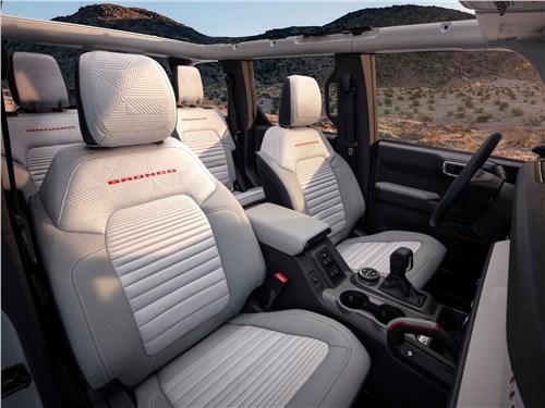 Предпросмотр ford bronco 4-door (2021) кресла