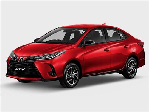 Новость про Toyota Yaris - Yaris Ativ (2021)