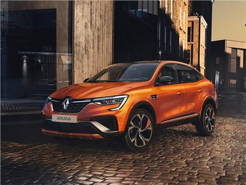 Renault представила Аркану для Евросоюза