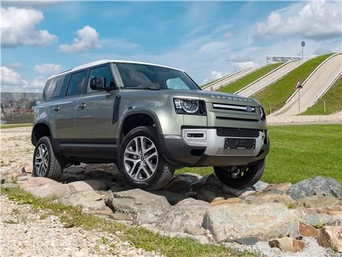 Land Rover Defender 110 - land rover defender 110 2020 заставит забыть прошлое