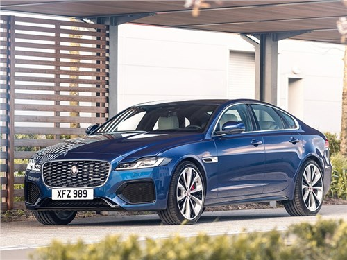 Новость про Jaguar XF - Jaguar XF (2021)