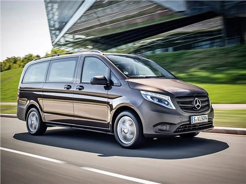Новость про Mercedes-Benz Vito - Mercedes-Benz Vito Tourer Pro