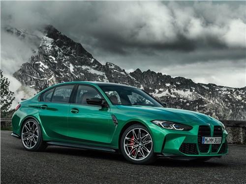 BMW M3 Sedan (2021) вид спереди