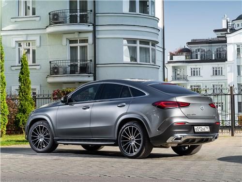 Mercedes-Benz GLE Coupe 2020 вид сзади