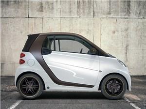 Smart разработал дизайнерскую версию купе и кабриолета ForTwo