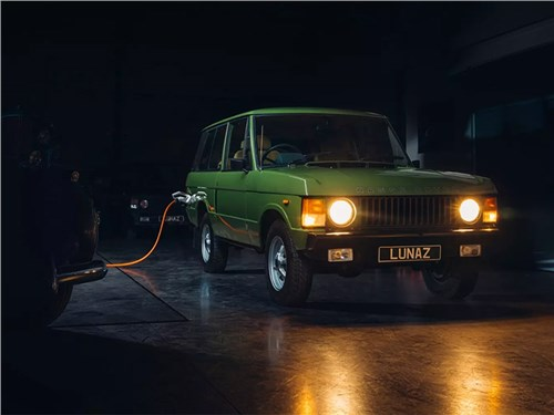 Классический Range Rover перешел на батарейки