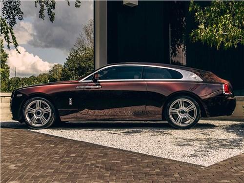 Niels van Roij Design | Rolls-Royce Wraith вид сбоку