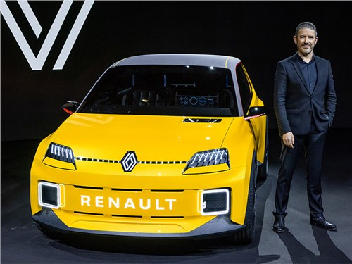 В Renault представили возрожденную модель с индексом «5»
