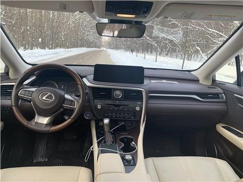 Lexus RX (2020) салон