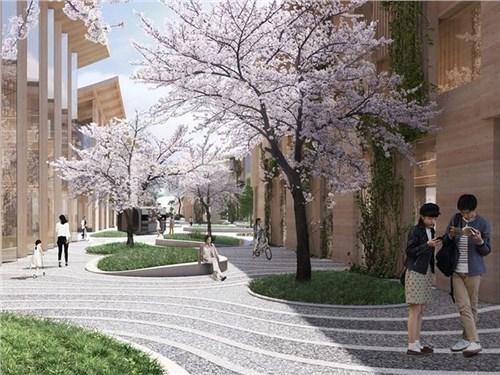 Toyota начинает строить собственный город