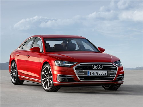 Новость про Audi A8 - Audi A8 (2018)