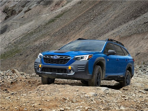 Subaru представила Outback Wilderness