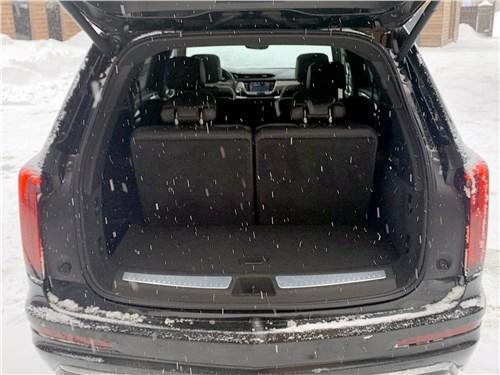 Cadillac XT6 (2020) багажное отделение
