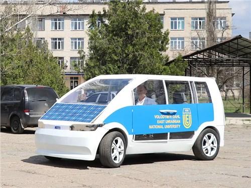 Украина обзавелась национальным электрокаром
