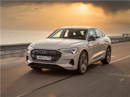 Audi e-tron - audi e-tron sportback (2021) оптическая революция