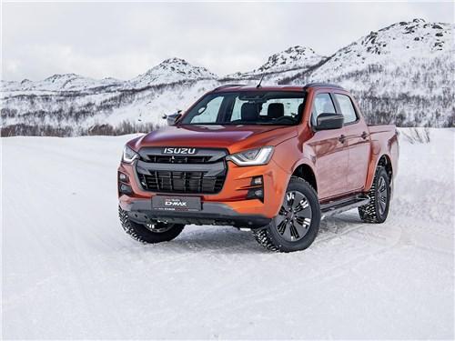 Предпросмотр isuzu d-max (2021) из грузовичка во внедорожники