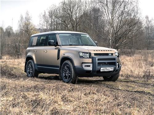 Land Rover Defender 110 - land rover defender 110 (2020) вернулся, убедил и победил