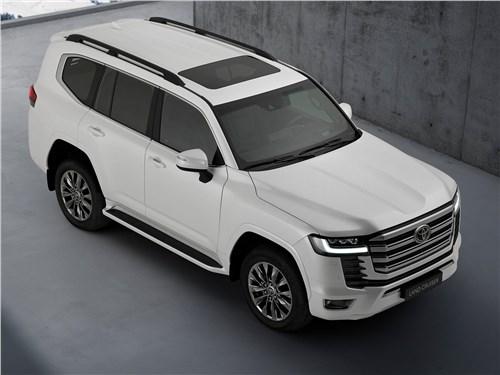 Корпорация монстров Land Cruiser - Toyota Land Cruiser (2022) вид спереди сверху