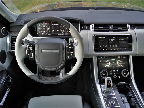 Land Rover Range Rover Sport SVR (2018) салон