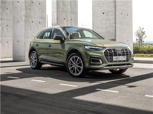 Audi Q5 - audi q5 (2021) объявил бой анахронизмам