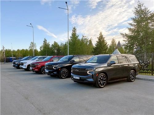 Chevrolet Tahoe (2021) на стоянке