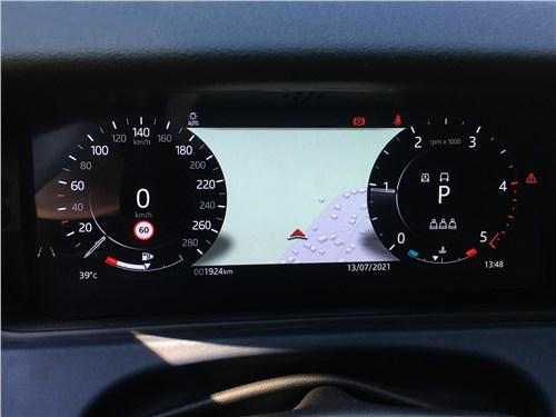 Land Rover Range Rover Velar (2021) приборная панель