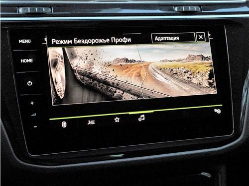 Volkswagen Tiguan R (2021) монитор