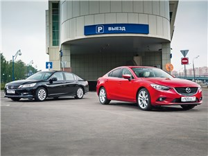 Honda Accord, Mazda 6