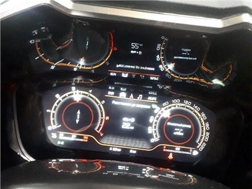 Новость про Lada Vesta - Салон новой Lada Vesta показали публике