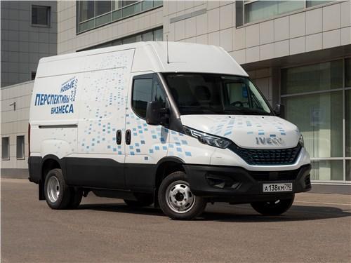 Iveco Daily - iveco daily (2021) усилил позиции передовой электроникой