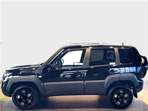 Lada Niva Travel обзаведётся черной версией