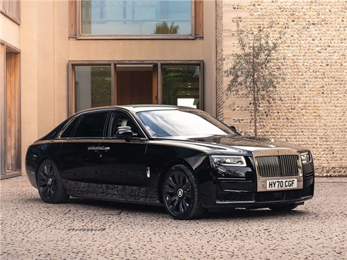 Новость про Rolls-Royce Ghost - Rolls-Royce Ghost Extended (2021)