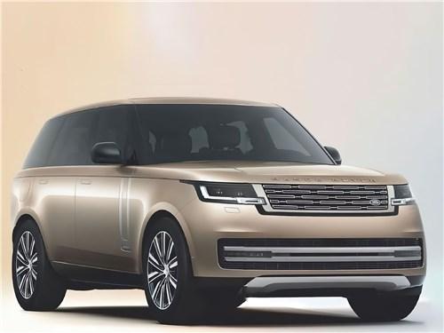 Если не мелочиться: в схватке за звание царя горы сошлись «технарь» BMW X7, брутальный Lexus LX и «аристократ» Range Rover Range Rover - Land Rover Range Rover (2021) вид спереди