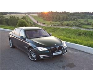 BMW 7 series - bmw 7 series 2013 вид спереди