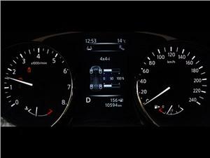 Nissan X-Trail 2014 приборная панель