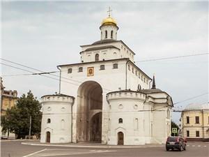 Золотые ворота Владимира на самом деле белые. Но от этого они не теряют привлекательности