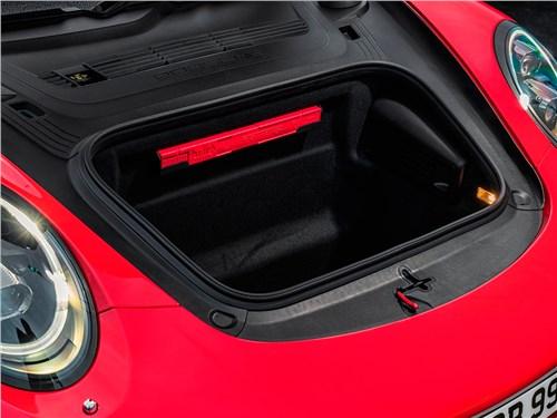 Porsche 911 Carrera S 2016 багажное отделение