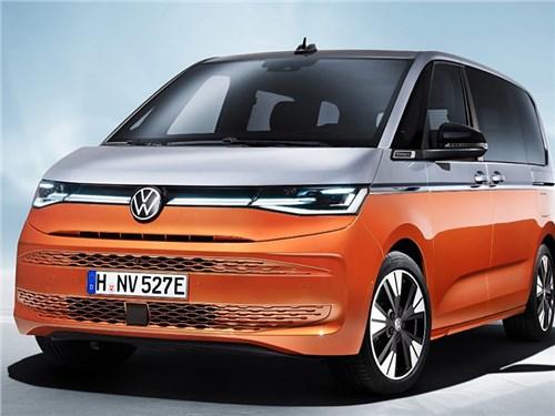Представлен новый Volkswagen Multivan