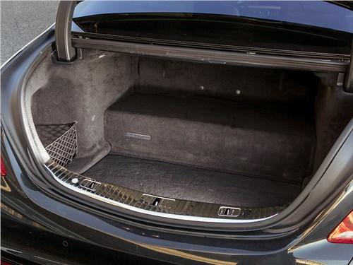 Mercedes-Benz S500 E Plug-In Hybrid 2015 багажное отделение