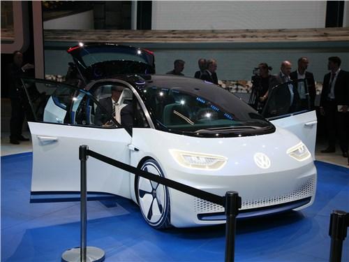Volkswagen I.D. concept 2016 Volkswagen 20-го года
