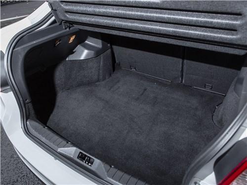 Lada Granta Liftback 2014 багажное отделение