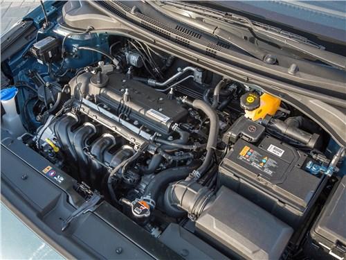 Hyundai Solaris 2017 двигатель