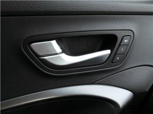 Hyundai Santa Fe 2015 внутренние панели передних дверей