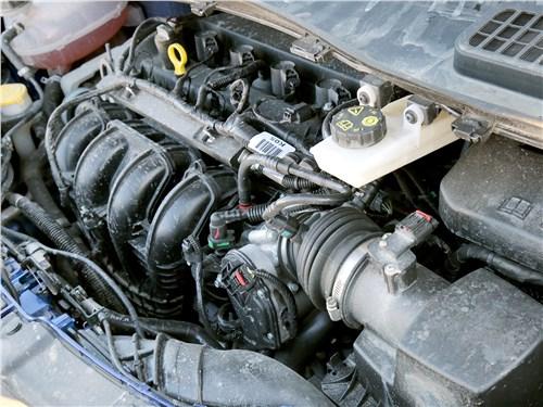 Ford Kuga 2017 двигатель