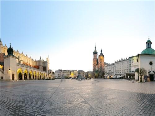 Краков с 1038 по 1596 год был польской столицей