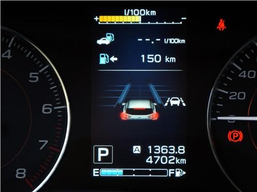 Subaru XV 2018 приборная ранель