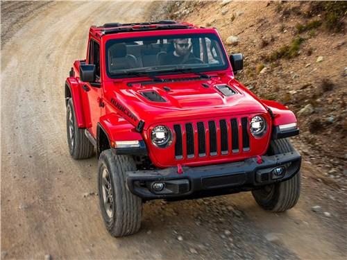 Предпросмотр jeep wrangler 2018 вид спереди