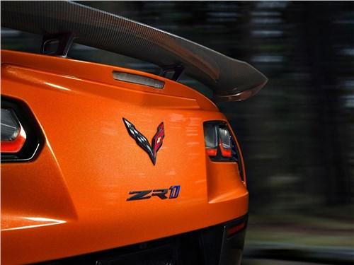 Предпросмотр chevrolet corvette zr1 2019 вид сзади