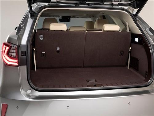 Предпросмотр lexus rx l 2018 багажное отделение